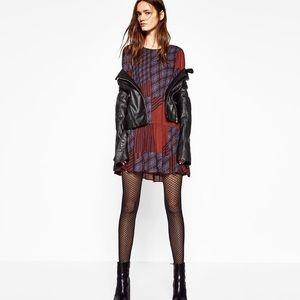 Zara Flowing patchwork Dress